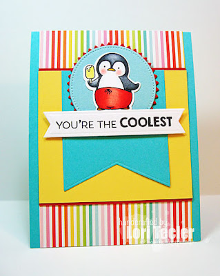 You're the Coolest card-designed by Lori Tecler/Inking Aloud-stamps from My Favorite Things