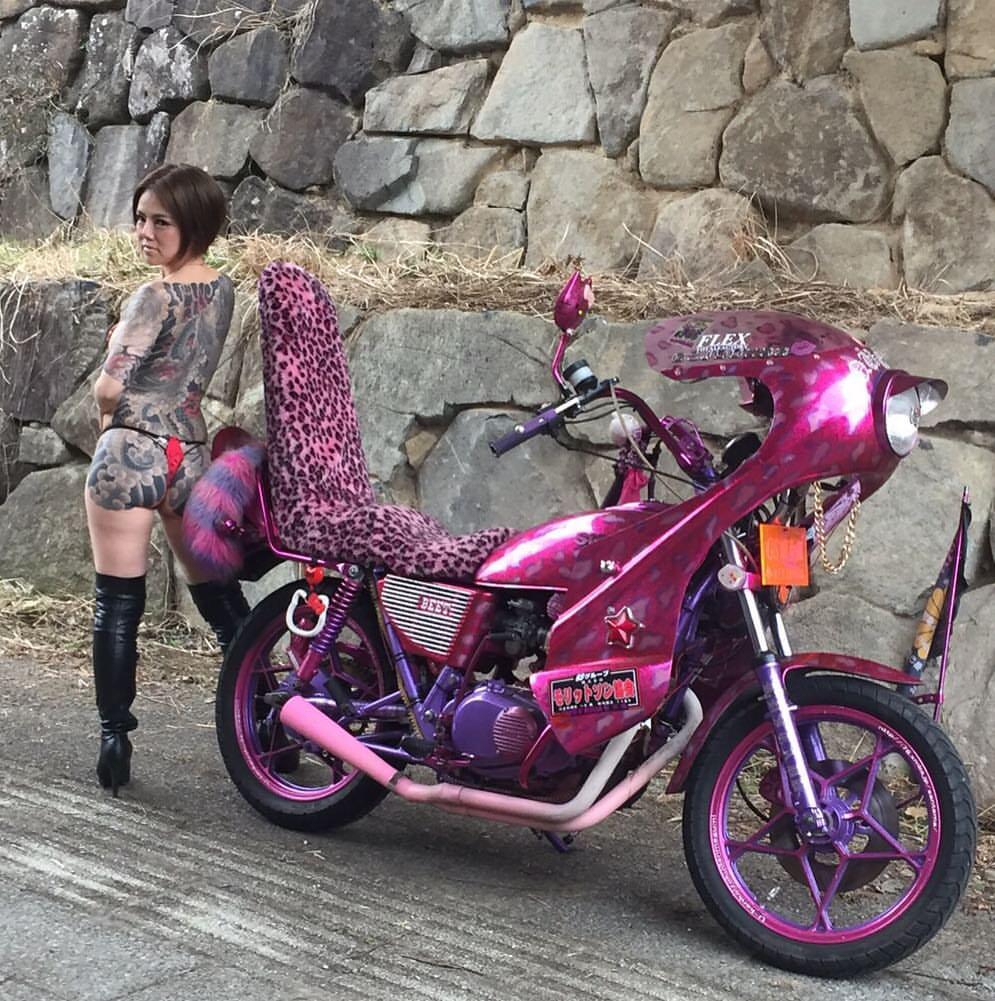Mercenary Garage: Bosozoku Girl