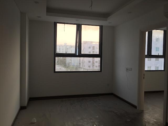 Không gian phòng khách và phòng ngủ đều được tiếp giáp với tầm view bên ngoài