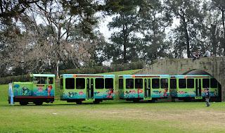 El nuevo tren ya viaja por la República de los Niños