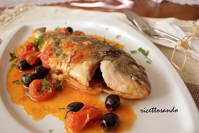 Pesce all'acquapazza ricetta di pesce tradizionale