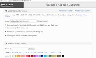 cara membuat favicon yang bagus untuk blog