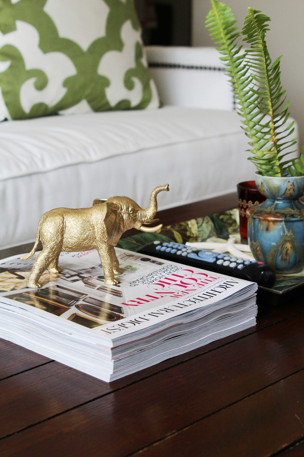 Turned To Design Re Styling What S On My Coffee Table