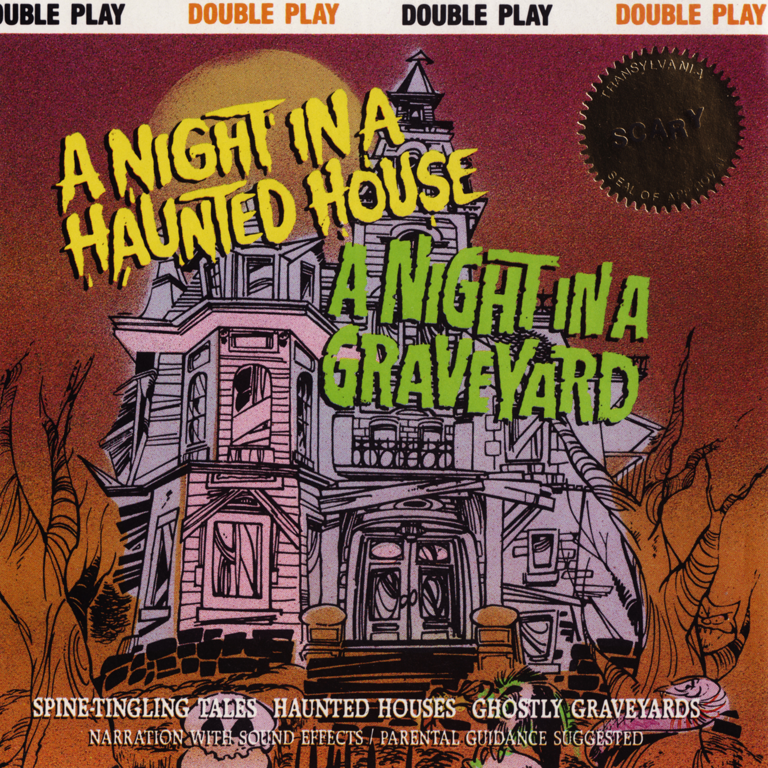 Scary Sounds of Halloween Blog: A Night In A Haunted House / A Night