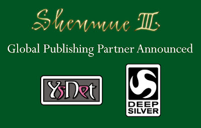 Shenmue 3 Global Publishing Partner Announced