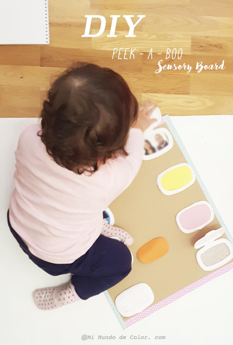 diy peek a boo sensory board