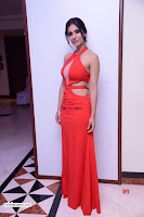 Alankrita new actress in Red Deep Neck Gown Stunning Pics ~  Exclusive Galleries 017.jpg