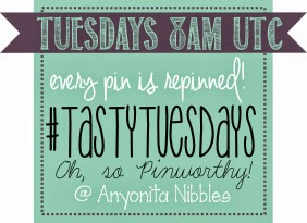 Get your food pins repinned to a massive board by linking up to #tastytuesdays