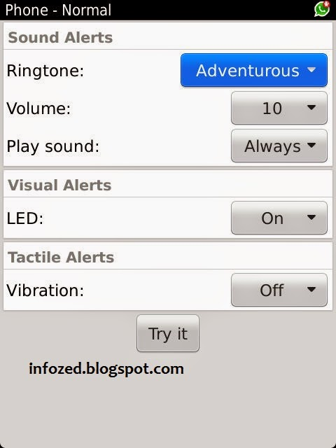 How to Set Ringtones  in BlackBerry Torch 9810, BlackBerry, RIM, Torch, SlidePhone, Ringtones, howto,