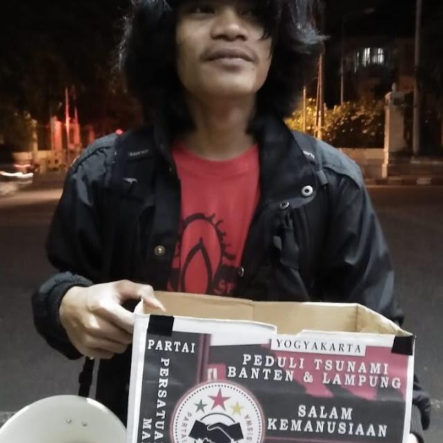 Duka Banten, GMNI UIN SUKA Galang Dana Kemanusiaan