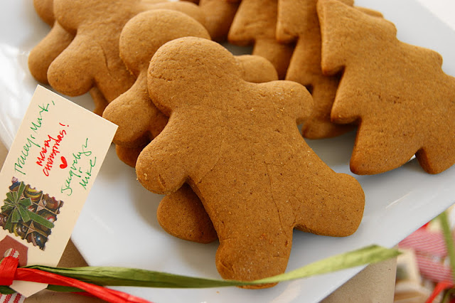 Classic Gingerbread Cookies image ~ The best classic Gingerbread Cookies recipe for soft cookies!  It just wouldn't be Christmas without a batch of these beauties.