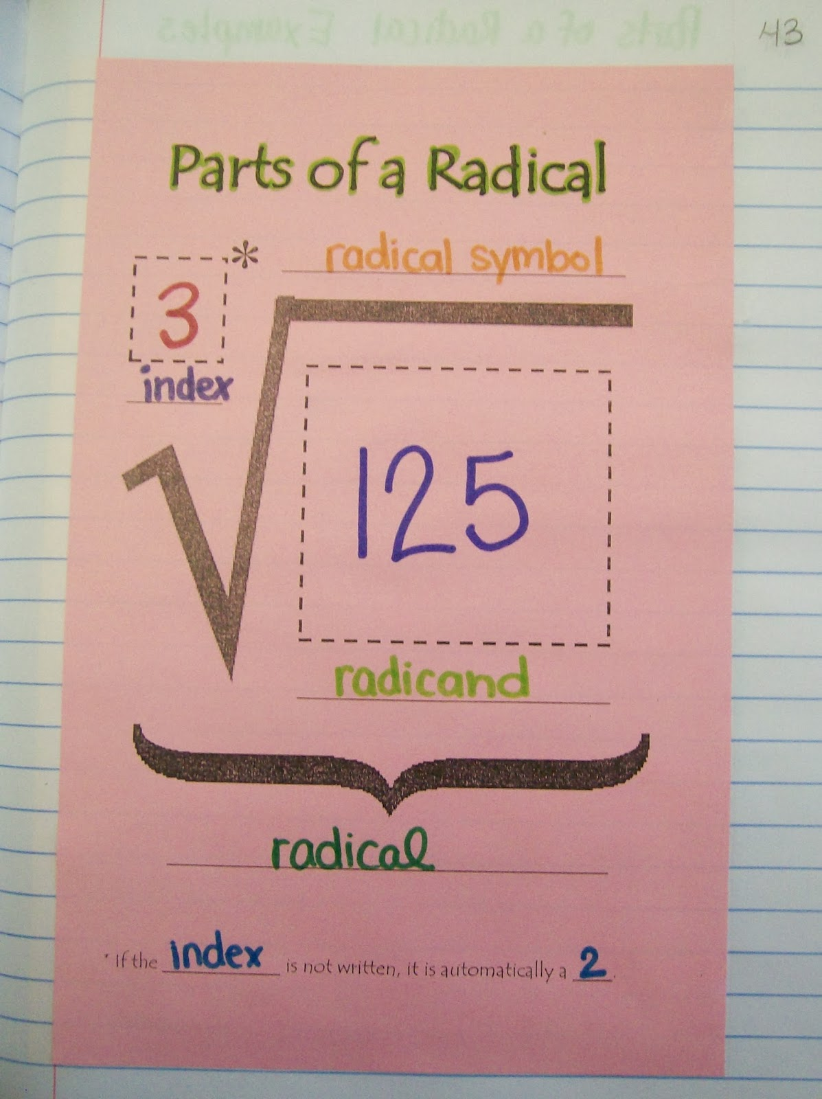 Math Love Radical Radicals