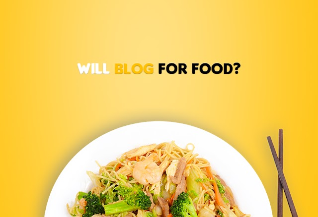Debunking the controversy of blogging in exchange for free food
