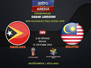 Timor Leste Vs Malaysia