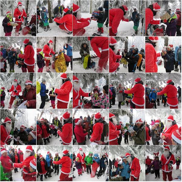 Mikołaj rozdaje prezenty!
