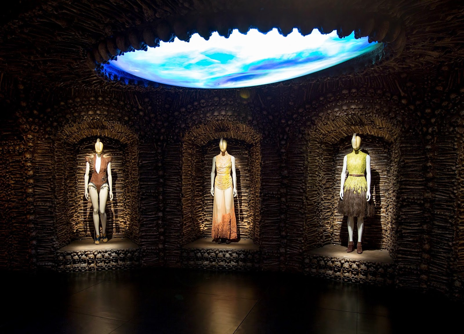 Alexander McQueen fashion installation Savage Beauty