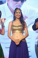 Malvika Raaj in Golden Choli and Skirt at Jayadev Pre Release Function 2017 ~  Exclusive 132.JPG