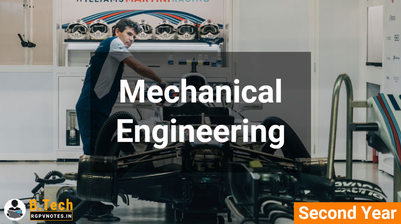 Mechanical Engineering - 2nd year - B Tech RGPV AICTE
