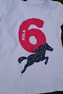 Geburtstag Tshirt Pferd