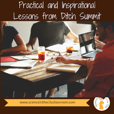 Practical and Inspirational Lessons from Ditch Summit