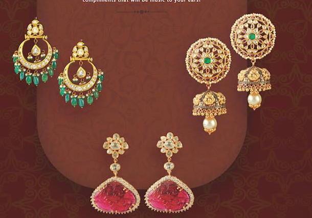 Large Diamond Earrings by Tibarumal