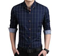 gaya pakaian pria - kemeja pria