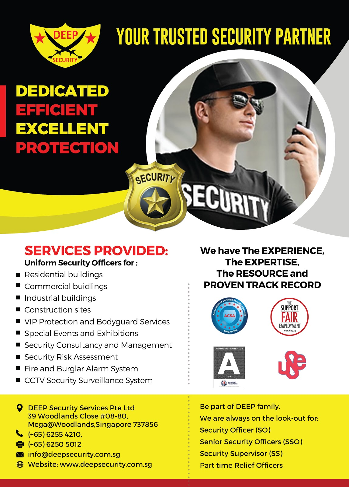 Security Guard Agency in Singapore