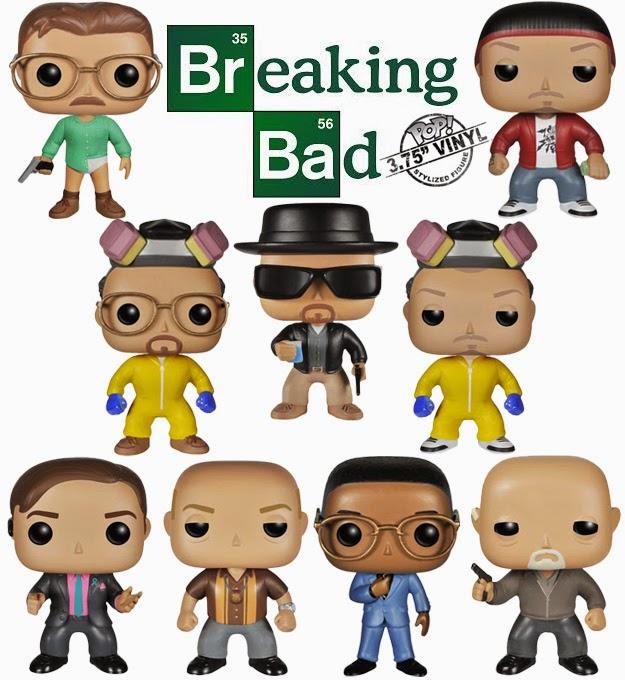 Bonecos Pop Funko Breaking Bad