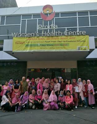 peduli pada kesehatan wanita di prodia women's health centre