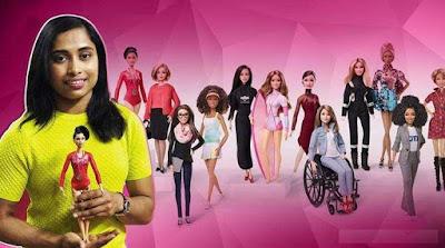 Dipa Karmakar Was Selected As Barbie Role Model