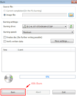 Cara Termudah Burning File/Video Menggunakan Power Iso