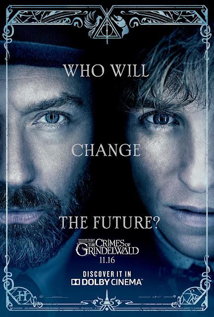Pôsteres de 'Os Crimes de Grindelwald' para IMAX e Dolby Cinema são divulgados | Ordem da Fênix Brasileira