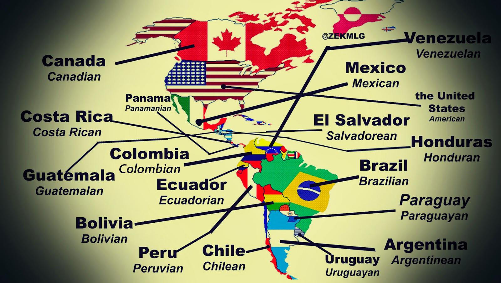 Variando Todo En Todo Mapa De Nacionalidades En Ingles Map Of Nationalities In English