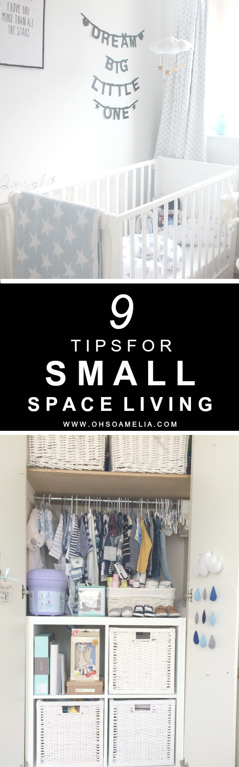 Here are 9 tips for making the most out of your space