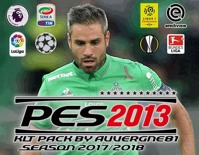 PES 2013 Kitpack Update 19.2.2018 by Auvergne81