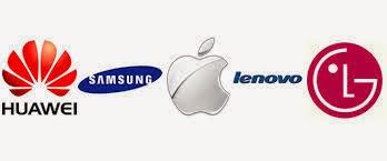 Jenama Smartphone Paling Popular 2014