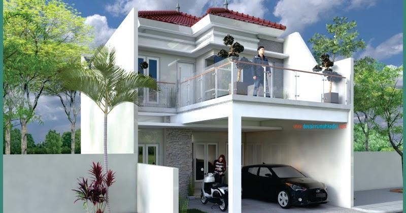 LT2-36 : Renovasi Rumah 2 Lantai Ibu Yeni di Kota Kediri ...