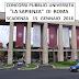 Concorsi Università La Sapienza di Roma: Invio Domanda Entro il 15 Gennaio 2018