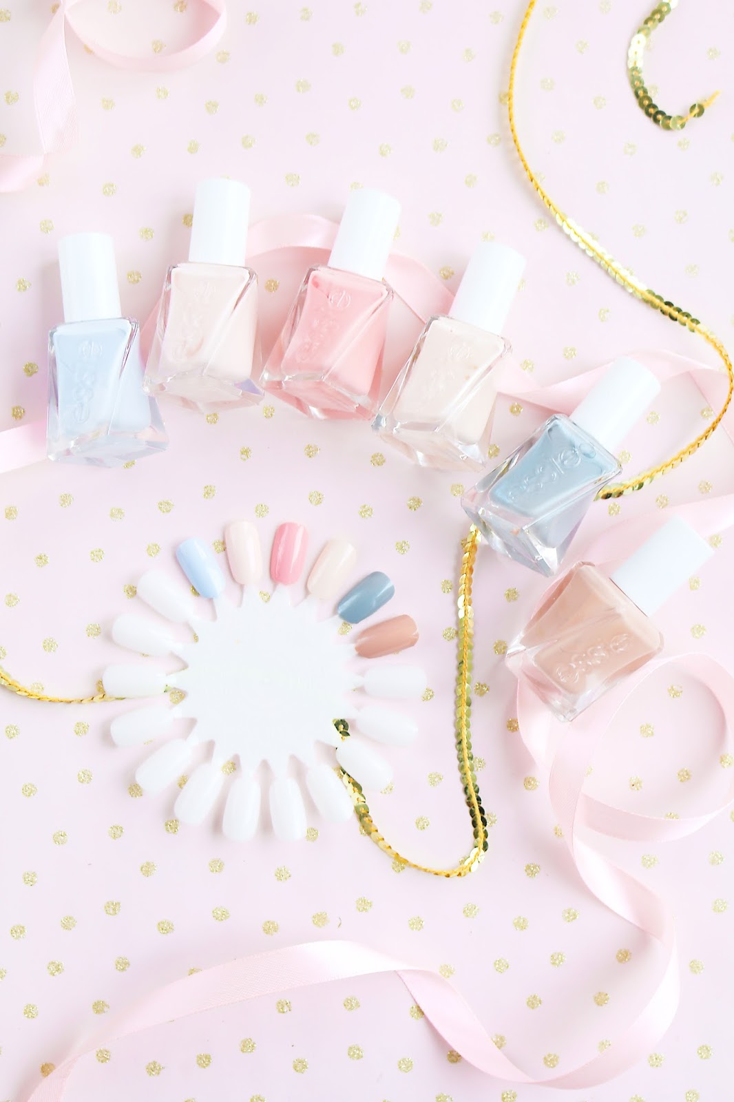 Beauty, Nails, Drugstore, Essie, essie ballet couture range, Drugstore Beauty, essie Gel Couture Range Ballet Nudes 2017