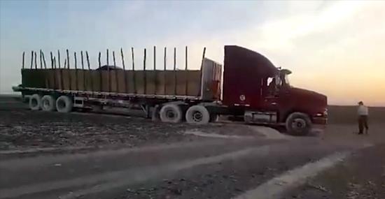 Caminhão estraga Linhas de Nazca no Peru - Capa