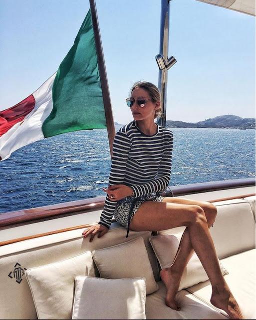 Στο Πόρτο Χέλι ο διάσημος μετρ Valentino και το παγκόσμιο fashion icon Ολίβια Παλέρμο