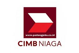 Lowongan Kerja Padang PT. Bank CIMB Niaga Tbk April 2019