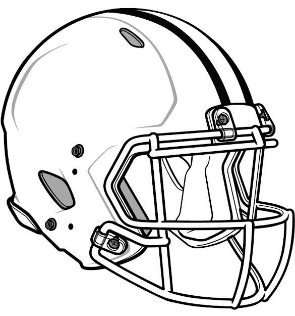 College Football Coloring Page For Our Family