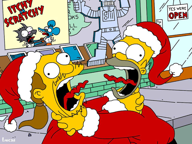Simpson Christmas HD Wallpapers Download Free
