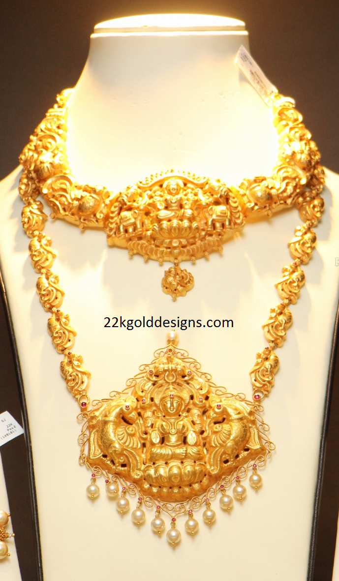 Latest Nakshi Necklace and Haram Designs
