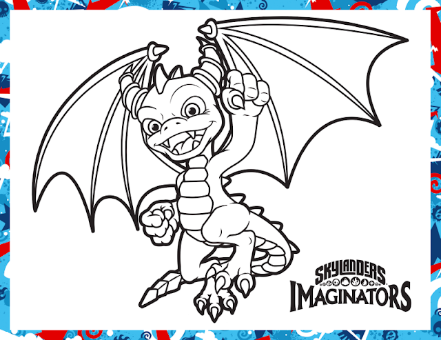 activity sheet spyro skylanders