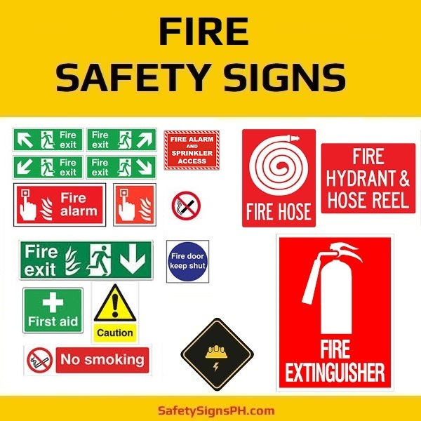 Fire Safety Signs Philippines