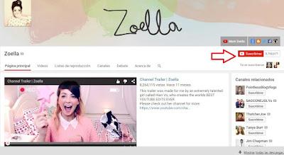 Vloggers-Zoella-Zoe Sugg-Youtube