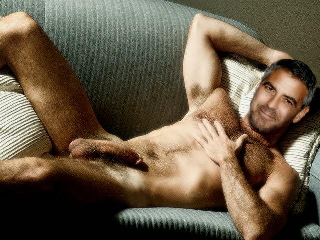naked George clooney