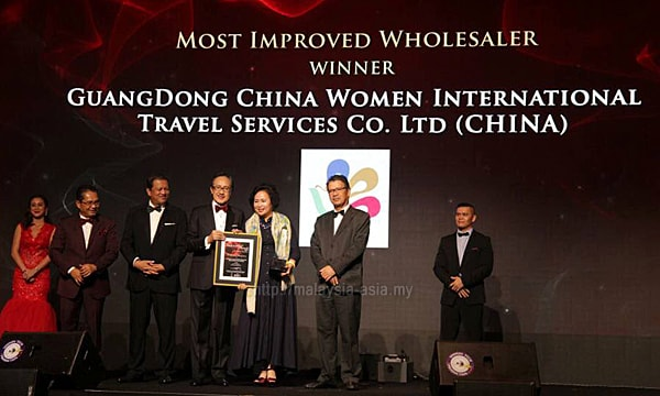 Sabah Most Improved Wholesaler Award